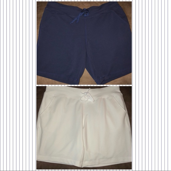 0a04fa214f7 Danskin Now Pants - 2 Pair Women s Knee Length Bermuda Pull On Shorts